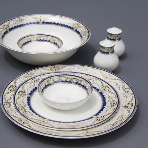 Sapphire Platinum – Dinner Set